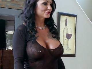Ashton Blake & Mike Mancini regarding Pimp My Matriarch - Brazzers