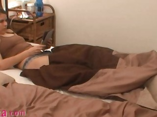 Asshole massage be beneficial to czech amateur Zuzinka