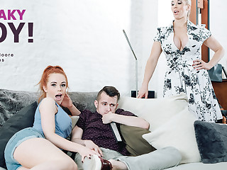 Ella Hughes  Rebecca Moore in Sneaky Boy! - StepmomLessons