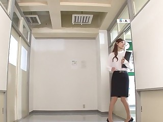 Amazing Japanese model Kaori Maeda in Hottest secretary, couple JAV chapter