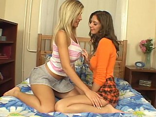European lesbo teens. Beautiful gams