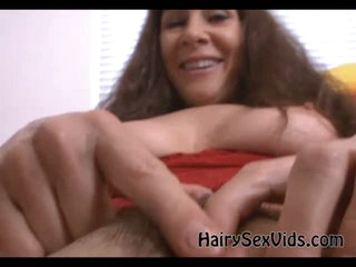 Lanate pock-marked bawdy cleft gives blowjob