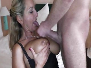 Milf with these pierced teats fucked