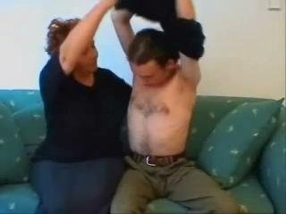 BBW Granny Home Dealings Video