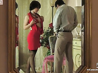 Gwendolen&Adam raging nylon action