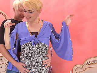 Elliot&Maurice femaleclothed crossdresser in deport oneself