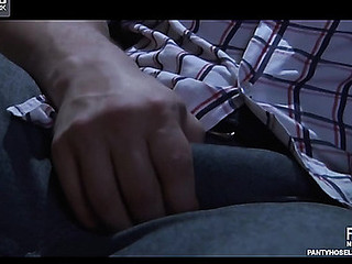 Marianne&Nicholas kinky hose movie