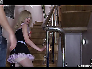 Paulina&Rolf nasty pantyhose episode