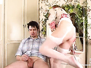 Meredith&Adam nylon fucking integument scene