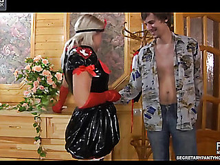 Susanna&Robin uniform hose movie