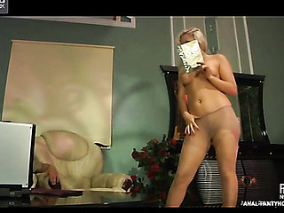 Flossie&Govard amazing anal hose video
