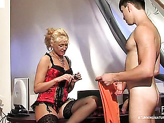 Smashing aged lady-boss going horny getting the almost any for mighty dicking