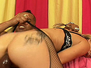 `Melanie is one smoking hawt German vixen! This Babe works at a local German deli 'coz this honey gets dripping juicy when handling large meat. Her gorgeous lips are consummate for smoking large 14`` sausage and when O.G. slaps in on her face this honey goes wild and horny and can't resist not fucking that darksome cock!! This is definitely one amazing blond whore!!`