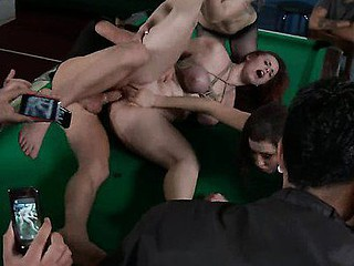 Hawt pretty girl dominated and fucked