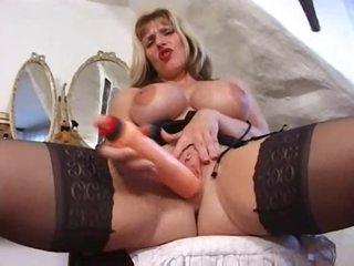 British milf in a beguilement tease of her hawt body