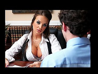 Nika is a very strong corporate executive. James is her fresh intern and this honey makes him do degrading jobs. This Guy picks up her sex toys, smutty movies and her underware. James feels that that guy's worth more than just being her errand chap. Nika rose to her strong position by fucking her way up to the top. That Babe craves to watch if James will do the same.