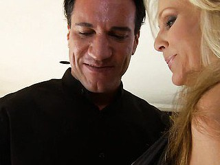 It's just tasty older doxy Julia Ann, and her paramour in this sexy scene. One Time this honey lets her ample breasts loose and free to move, this yum mother I'd like to fuck gives us a view of all the act as this honey gets ridden hard. Not one to let anything go to waste, that honey has him cum in her mouth, so that honey can swallow rather then it going to her warm love tunnel.