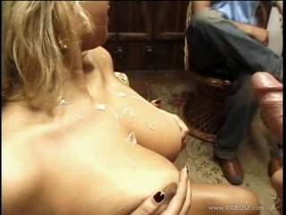 Smoking Hot Masked Latina Babe Gets Drilled and Overspread In Thick Cum