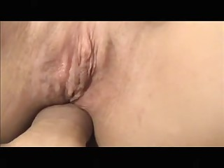 Amateur sex movie scene with hardcore anal drilling