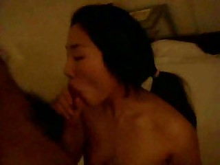Korean girl has extraordinaire sex