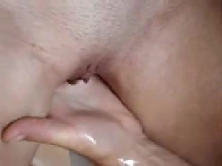 Shaved Poon Fingered