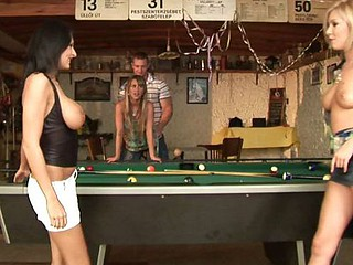 Pool Hall Orgy Addicts