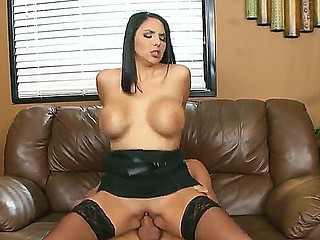 Danny Mountain enjoys having a wild fuck with secretary Missy Martinez