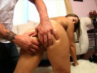 Drew butterfly loves her rectal hole fuck slamming