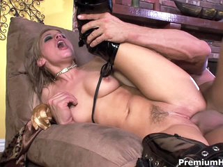 Holly Wellin gets her constricted asshole stuffed