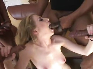 Keep in view her hide-out on big black cocks