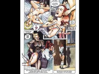 Redhead loves charm orgy cartoon comic