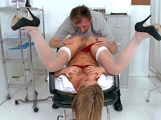 Bree Olson is a fuckilicious nurse with big pest and