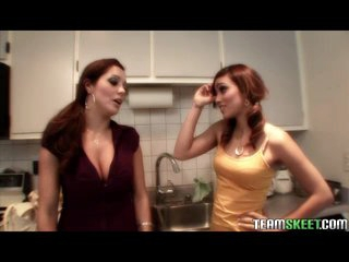 Hot Brunettes Lesbian Latin babe Melanie Rios And Francesca