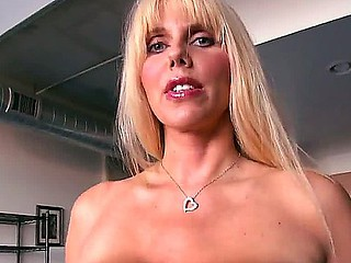 Karen Fisher is unsatisfied blonde milf