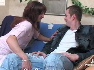 Cyrus&John crossdresser gay on episode