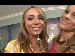 Hannah West and her most amazing ally wanted to feel extremely nice-looking in the make up room when the creepy cum shot surprise team blasted the floozy with a biggest load! Those 2 blond smoking sexy honeys love jock and cum and even take it up the ass! U gotta watch just how eager those jizz sluts get...