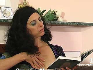 Alana&Tobias sexy old woman on couple