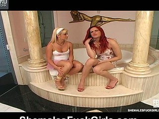 Alexia Nogueira sheboy and pussygal in act