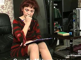 Lillian&Marcus kinky mature act