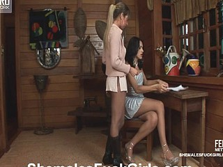 Marcia&Patricia shemale dicking lady on clip
