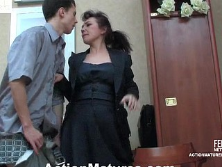 Lillian&Lewis peppery sexy mature act