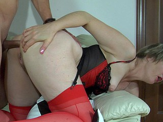 Leonora&Tobias anal mommy alongside act