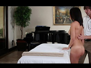 Dillion Harper has an astonishing body. On occasion that chick like to go and receive her pleasant cunt pampered with a bit of hook-up therapy. At this spa, merely the finest dicks receive to come into her tense vajay.