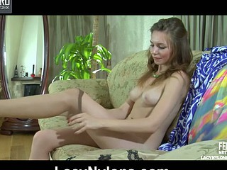 Hawt playgirl enjoys along to look for the brush tan nylons together with satin garter in along to reiteration