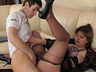 Virginia&Vitas pantyhose mommy on clip