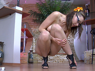 Katharine B nylon feet act