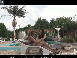 Nicole&Joyce ladyboy and pussygirl at bottom episode