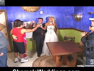 Ferrari excited shemale bride