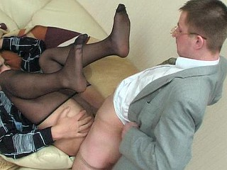 Alan&Hugo pantyhose homoerotic movie