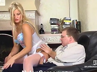Elvira&Peter nasty nylon movie
